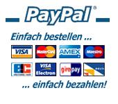 PayPal Bezahlmethoden logo